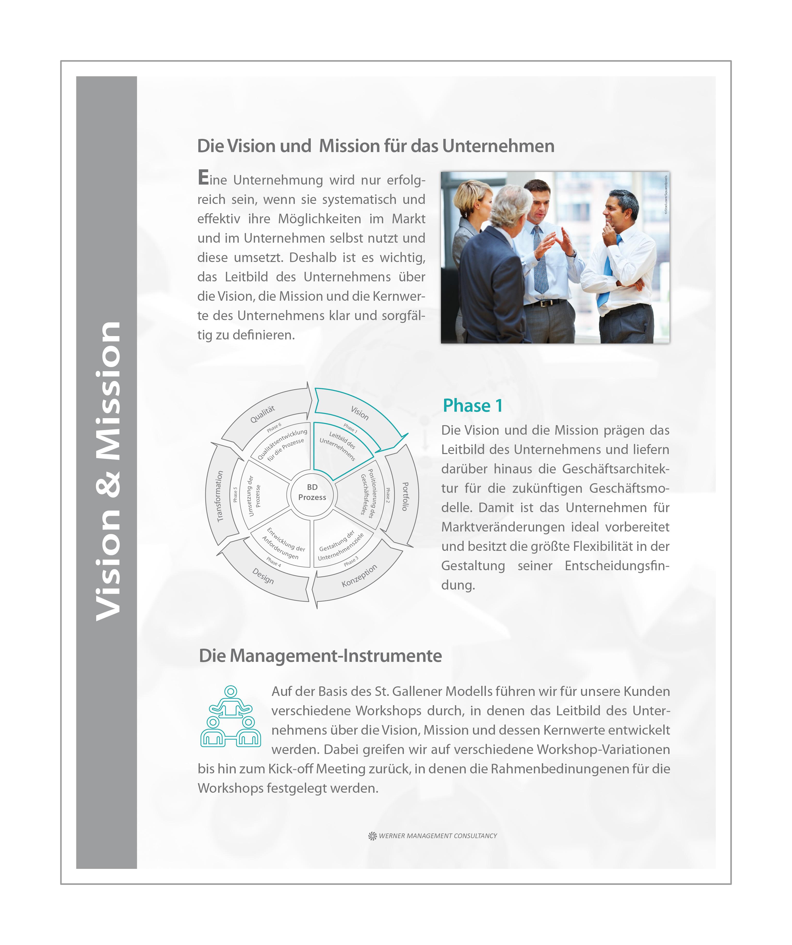 WMC Broschüre Business Development Phase-1 Prozess