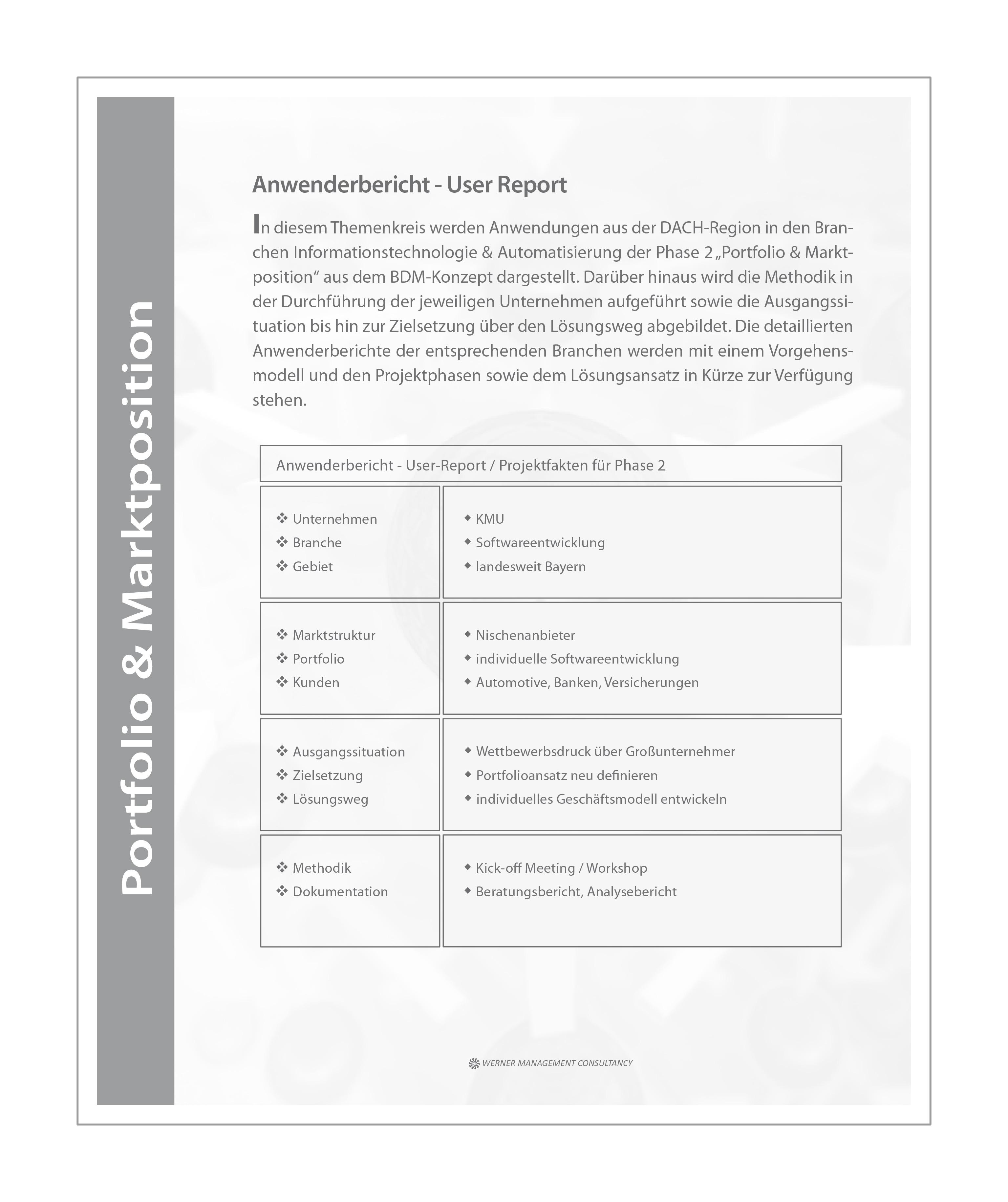 WMC Broschüre Business Development Phase-2 Anwenderbericht